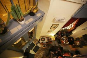 Kilátás a galériáról